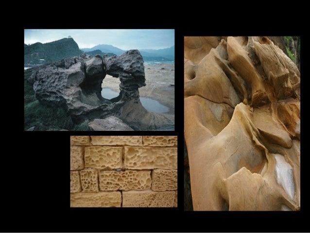 Tipos de Meteorización Meteorización Química Se produce una variación en la composición de las rocas. Se da en climas cáli...