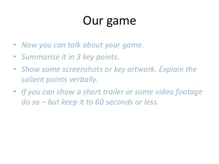 Indie Games Developer Pitch Deck Template - Video game pitch document template