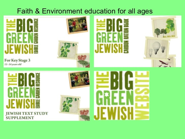 Faith & Environment education for all ages