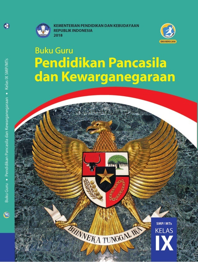 buku guru ppkn kelas 9 kurikulum 2013