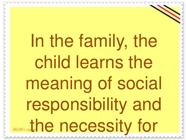 Society and Culture: Family Planning