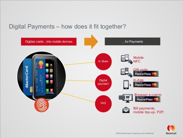 mastercard p2p mobile payments