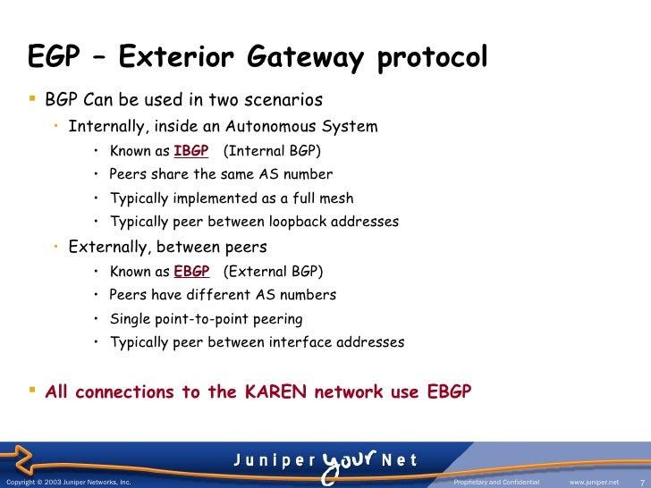 Bgp Protocol Presentation