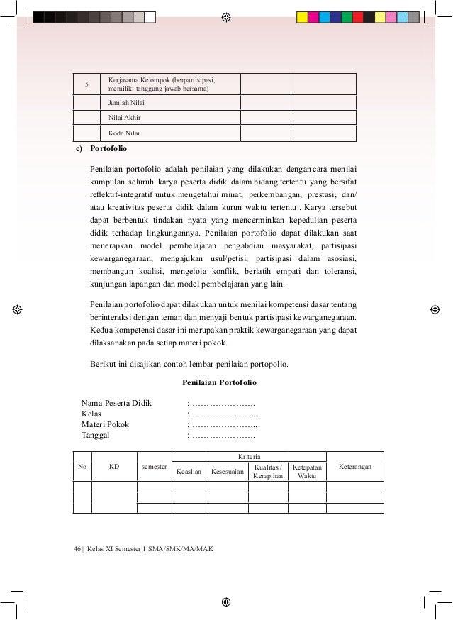 Materi Pkn Kelas Xi Pdf