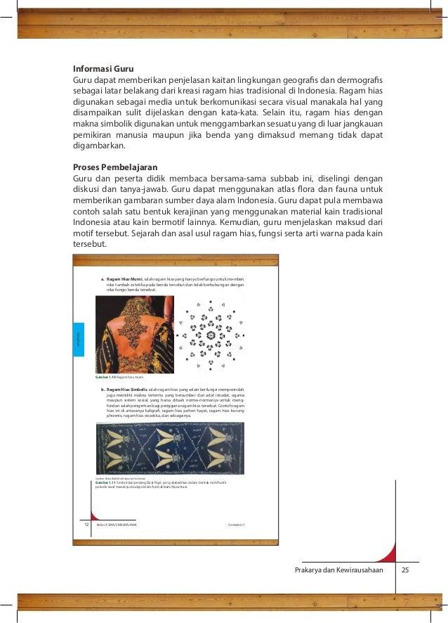 Bg Prakarya Sma Kelas X Kurikulum Download Lengkap