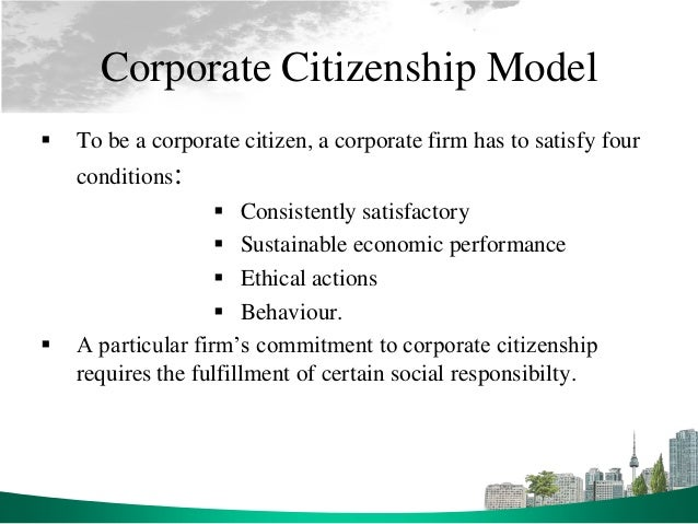 examples of corporate social responsibility pdf