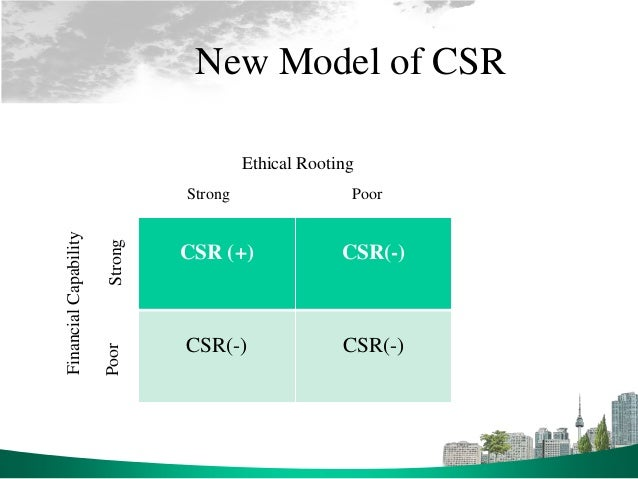 arguments against csr The forbes csr blog covers all topics  because executives are unlikely to act voluntarily in the public interest and against  csr is the real world.