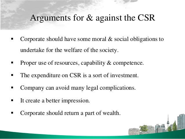 The Case Against Corporate Social Responsibility