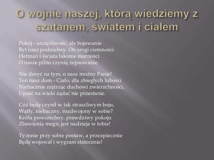 Bóg W Poezji Barokowej