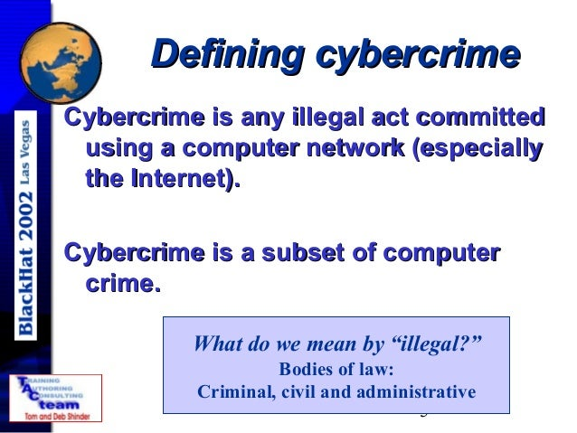 introduction to cyber crime Cybercrime, also called computer crime, the use of a computer as an instrument to further illegal ends, such as committing fraud, trafficking in child pornography and intellectual property, stealing identities, or violating privacy.