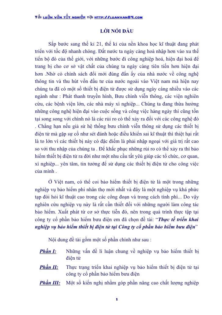 Tải luận văn tốt nghiệp tại http://luanvan84.com                               LỜI NÓI ĐẦU       Sắp bước sang thế kỉ 21, ...