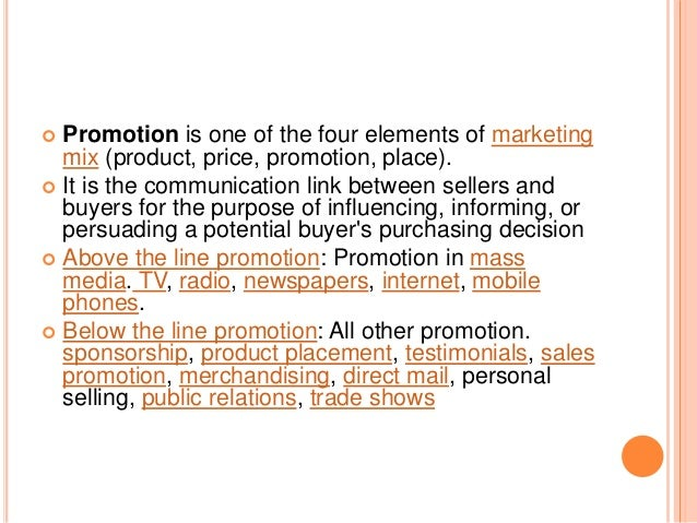 promotions a communication link between buyers and sellers marketing essay This term is one of the elements of marketing mix (product, price, promotion, and distribution) it is the communication link between sellers and buyers for the purpose of influencing, informing or persuading a potential buyer's purchasing decision.