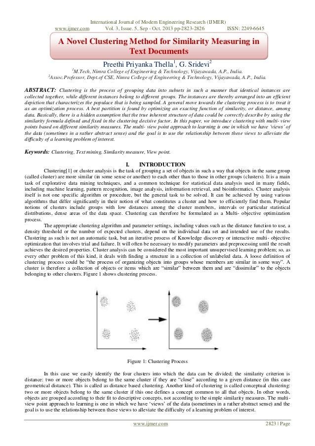 www.ijmer.com  International Journal of Modern Engineering Research (IJMER) Vol. 3, Issue. 5, Sep - Oct. 2013 pp-2823-2826...
