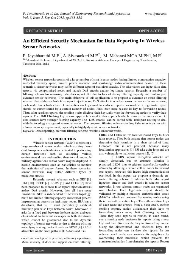 P. Jeyabharathi et al. Int. Journal of Engineering Research and Application www.ijera.com Vol. 3, Issue 5, Sep-Oct 2013, p...