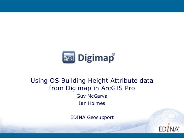 Using OS Building Height Attribute data from Digimap in