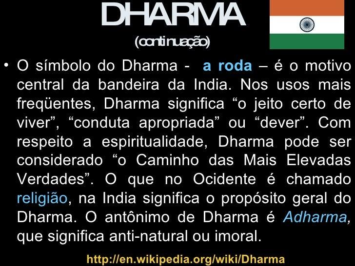 Resultado de imagem para Dharma é