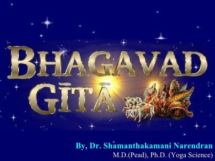 By, Dr. Shamanthakamani Narendran   M.D.(Pead), Ph.D. (Yoga Science)
