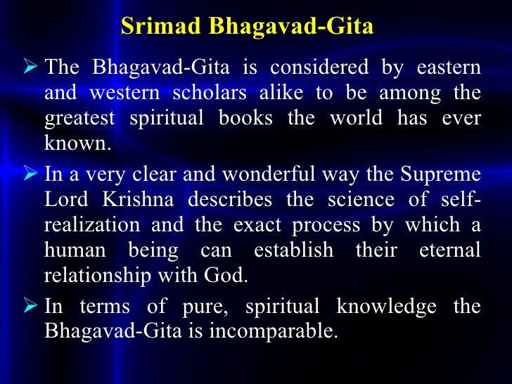 Bhagavad Gita ppt
