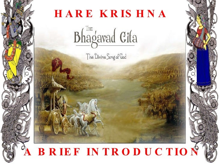 HARE KRISHNA A BRIEF INTRODUCTION
