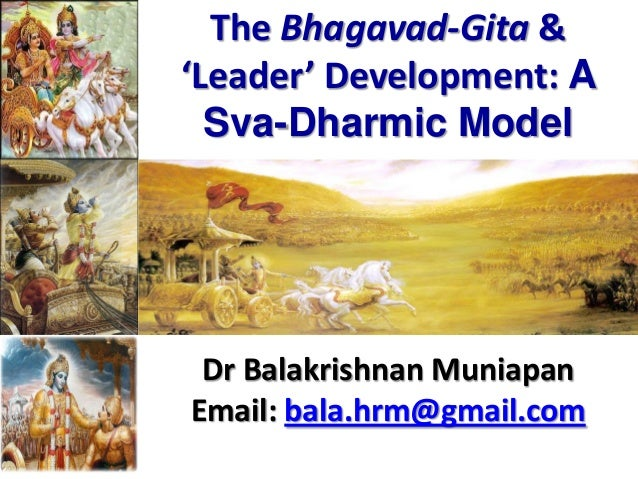 PDF Download Bhagavad Gita On Effective Leadership Free