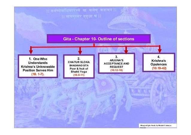 bhagvad gita chapter flowcharts bhagvad gita study by bhakti caitanya swami 10