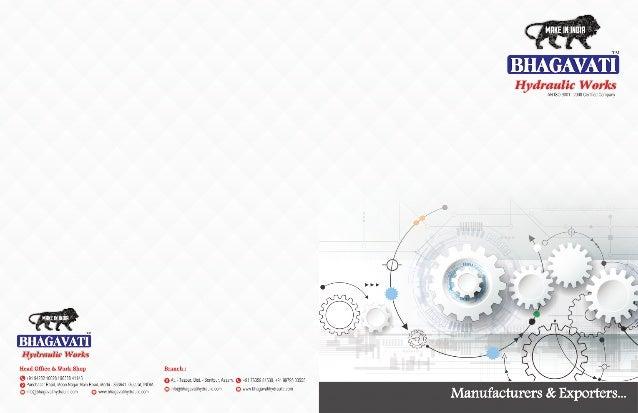 Bhagavati Hydraulic Works, Morvi, Industrial Machine