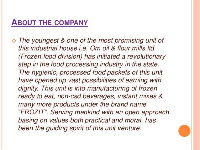 A presentation on Ruchi food line : Frozit brand activation