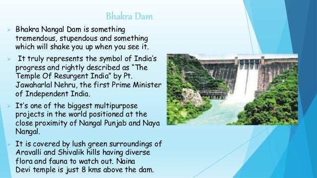 Bhakra Nangal Dam Pdf