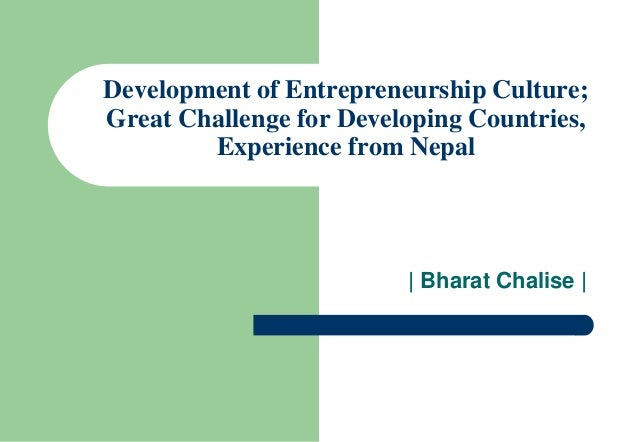 480899965 developing an entrepreneurship culture developing an entrepreneurship culture the greenwich experience danny f sondakh and kanes k rajah abstract: entrepreneurship is increasingly relevant to economic output and job creation in both developed and developing countries.