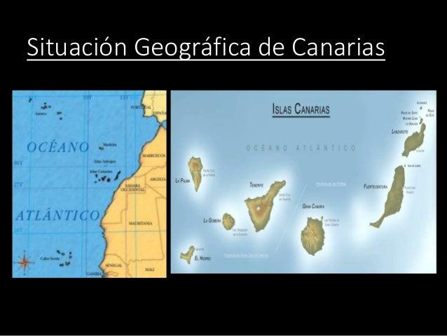 Situación Geográfica de Canarias