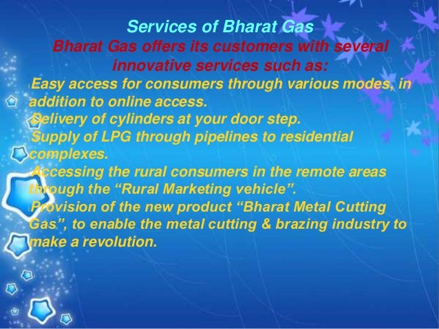 Bharat gas transfer a connection process