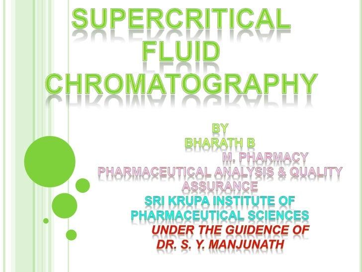 Supercritical fluid chromatography