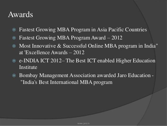 Bharathiar Distance Mba In Retail Management Jaro Education