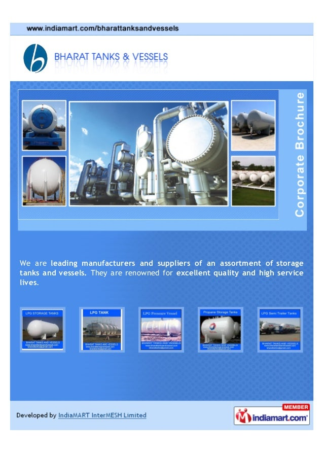 We are leading manufacturers and suppliers of an assortment of storagetanks and vessels. They are renowned for excellent q...