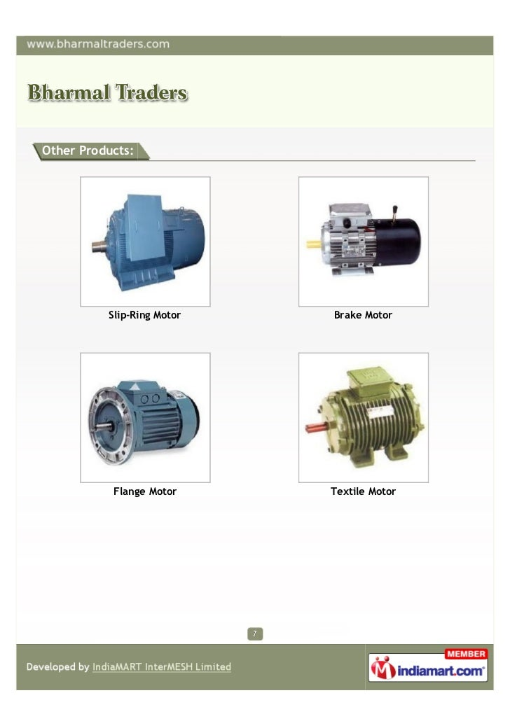 Other Products:          Slip-Ring Motor   Brake Motor           Flange Motor     Textile Motor