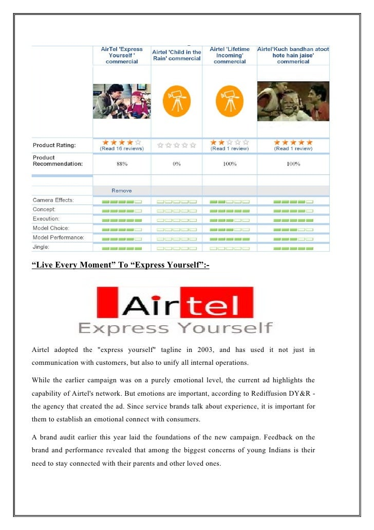 bharti airtel mobile services marketing essay Key success factors for airtel using porters value chain analysis essay b  strategies of airtel: mobile to mobile payment: this is the first mobile-to-mobile .