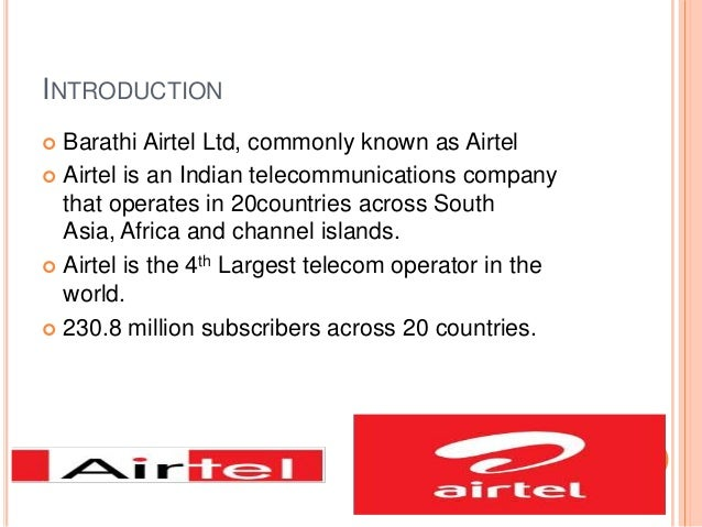 vision and mission of airtel Home » vision & mission the company has strived to imbibe its employees with the vision and mission of the organisation through clear articulation and internal.