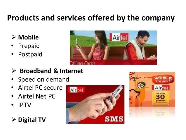 bharti airtel services