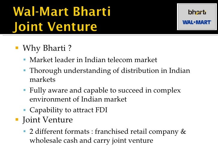 bharti and walmart in the indian retail market India s retail market, estimated to be worth about $300 billion a year, is growing at about 20% annually, and wal-mart has a first-mover advantage among the foreign retailers eyeing the country.