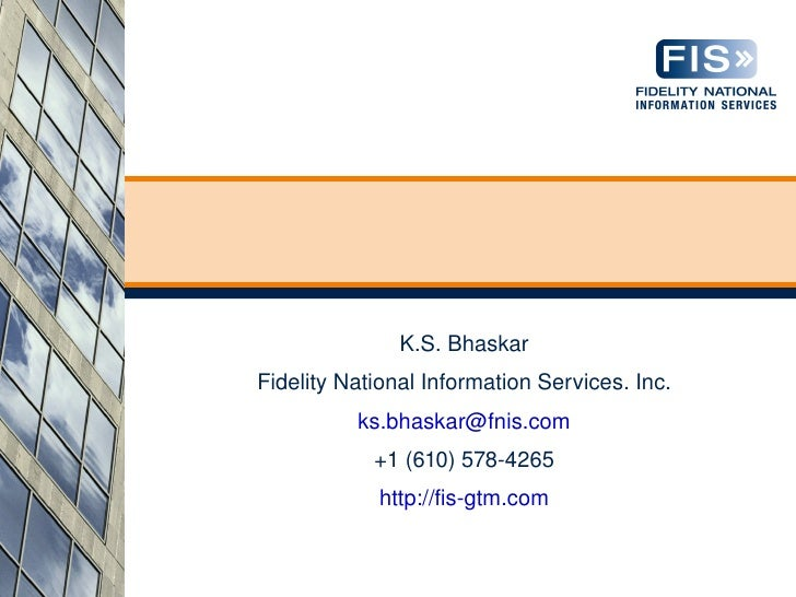 Deploying GT.M applications with xinetd                       K.S. Bhaskar      Fidelity National Information Services. In...