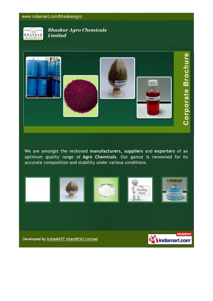 Bhaskar Agro Chemicals Limited, Hyderabad, Diazinon 10 G