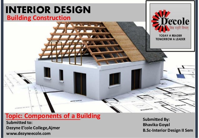 Bhavika Goyal BSc Interior Design Building Construction Assignment Best Interior Design Construction