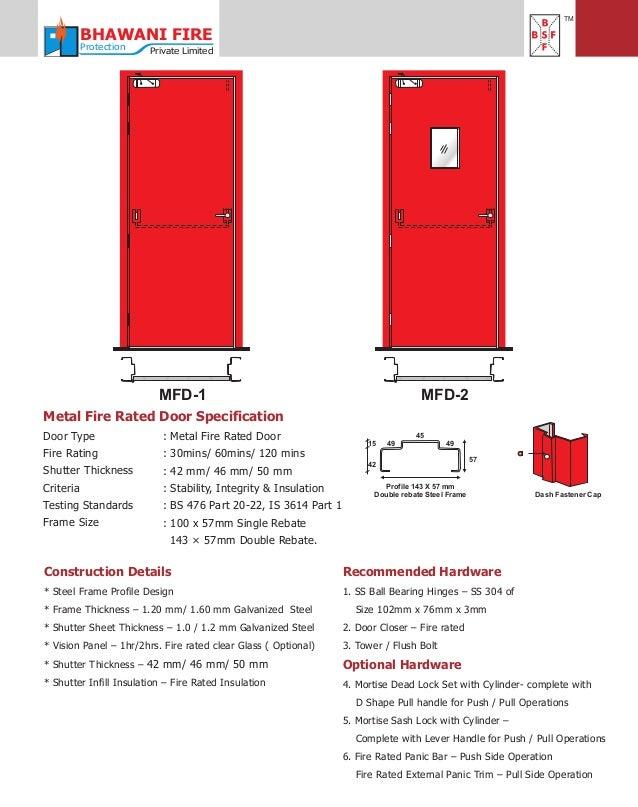 Bhawani Steel Fabricators Ghaziabad Steel Doors