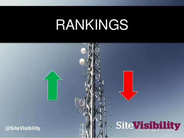 RANKINGS @SiteVisibility