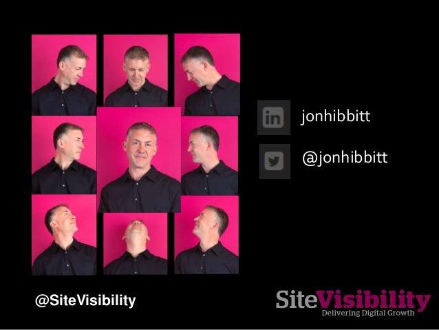jonhibbitt @jonhibbitt @SiteVisibility