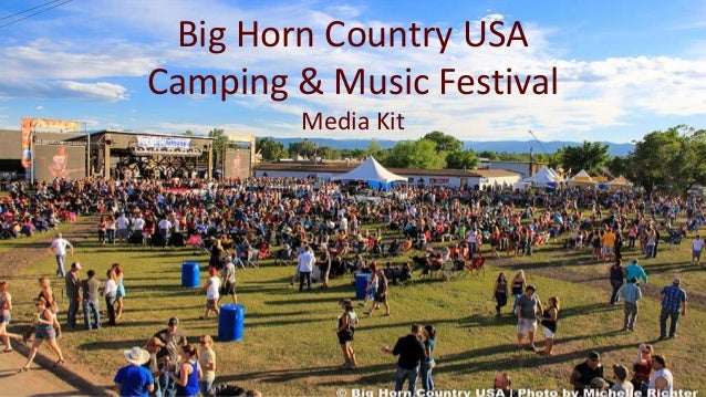 Big Horn Country Usa Camping Music Festival