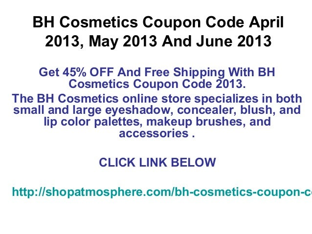 Coupon code bh cosmetics
