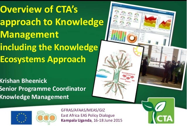 KNOWLEDGE MANAGEMENT BY CTA