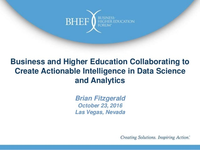 Technology Management Image: Business And Higher Education Collaborating To Create
