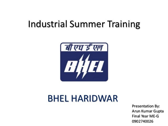 training and development at bhel Training and development practices in an organisation: an intervention to enhance organisational effectiveness 188 literature review role of training and development of.